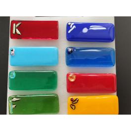 35101. Bordkort i glas